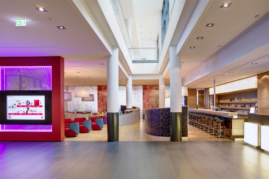 Bfd berlin fliesendesign intercity hotel berlin bfd for Top 10 design hotels berlin
