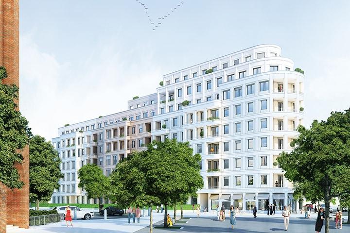 Aktuelles Projekt der BFD Berlin Fliesendesign - Fliesenleger in Berlin