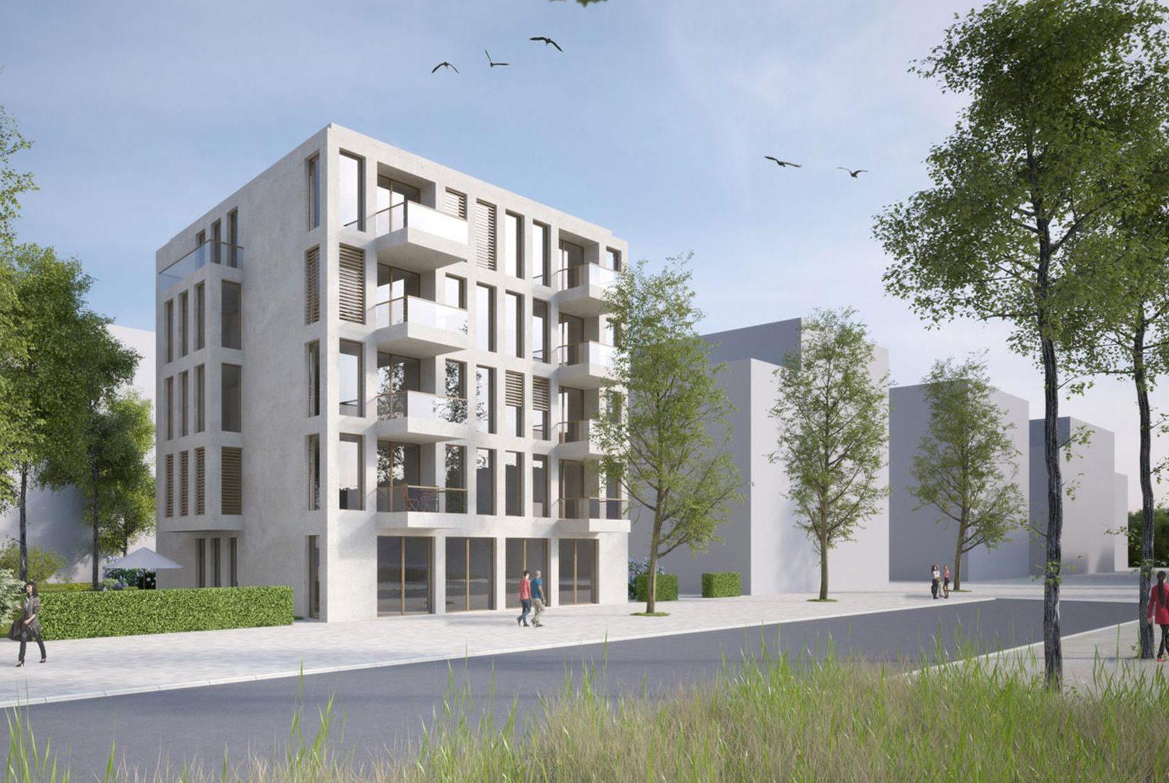 Mauerpark Thiele Architekten Berlin Fliesendesign
