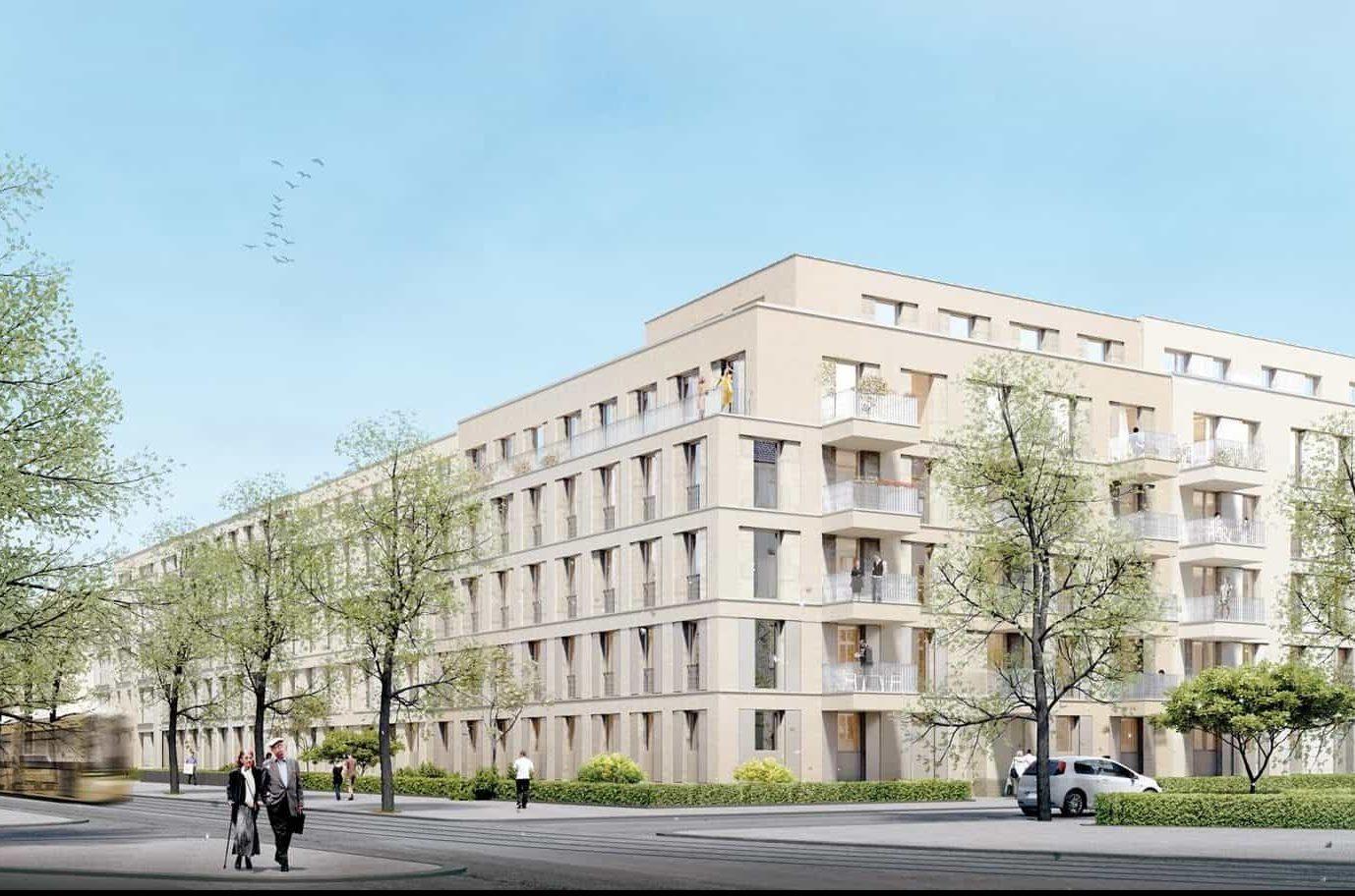 Wohnkomplex Pankow Berlin Fliesendesign