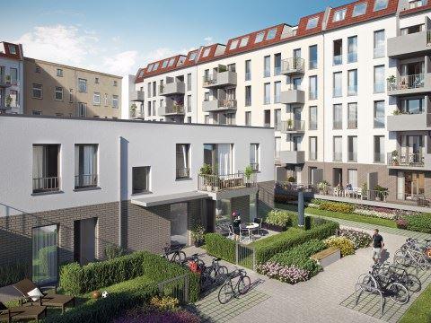 Bauprojekt Langhansstraße Berlin Fliesendesign