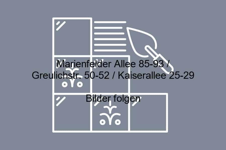 Marienfelder Allee BFD Berlin Fliesendesign