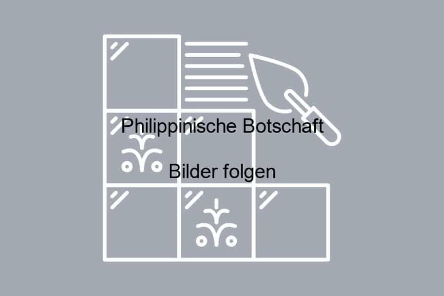 Philippinische Botschaft BFD Berlin Fliesendesign