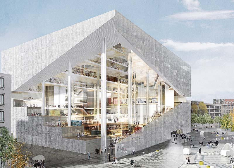 Axel Springer Berlin Fliesendesign BFD