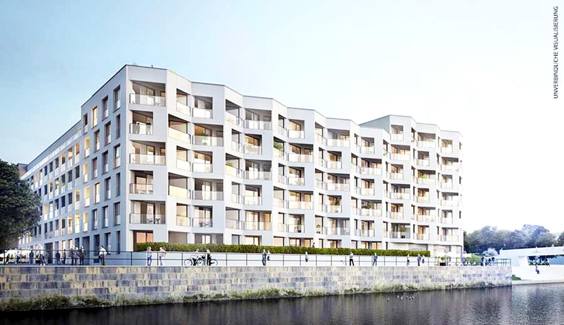 Europacity Stadthafenquartier BF 7 | Berlin Fliesendesign BFD